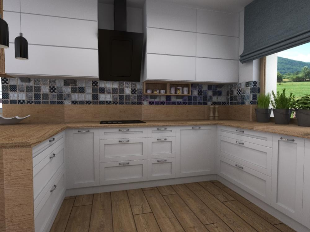 Projekt wnętrza Kuchnie