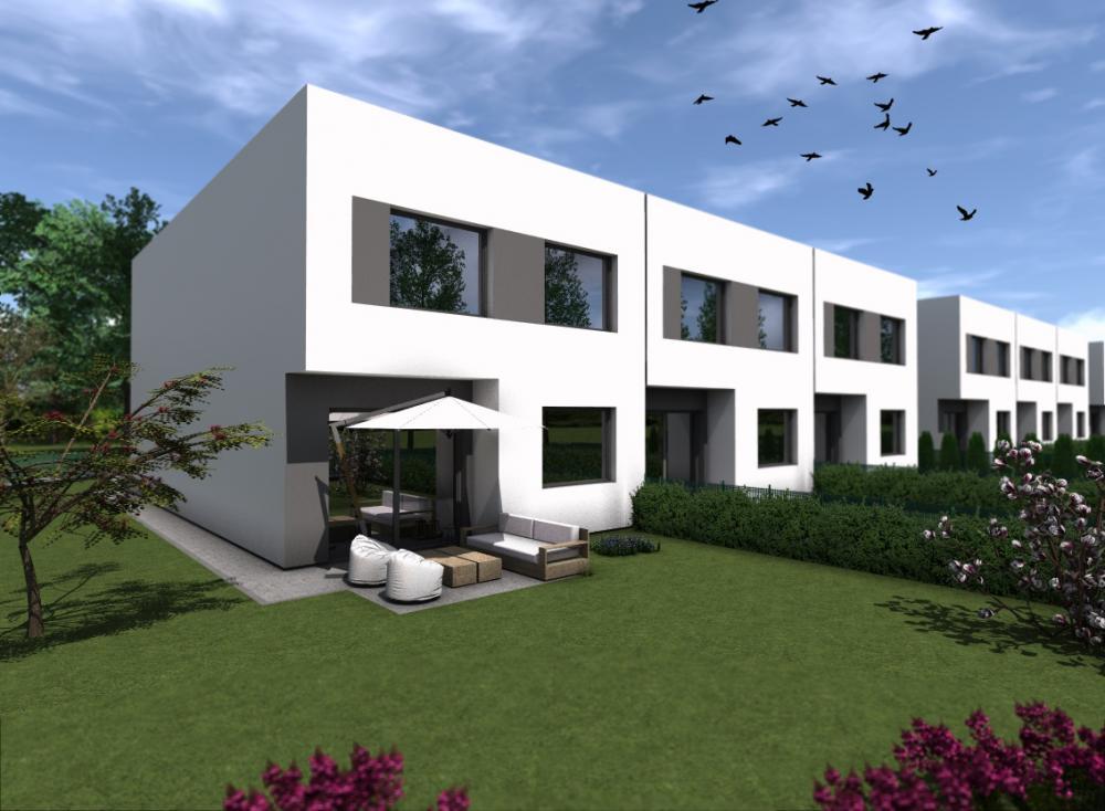 Projekt wnętrza Osiedle domów w zabudowie szeregowej