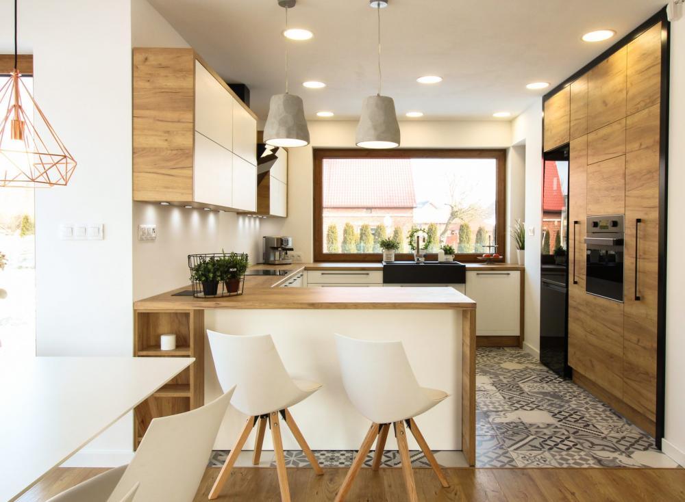 Projekt wnętrza Kuchnia w stylu rustykalnym